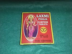 Laxmi Pooja Camphor Set of 3 x 300 Tabs For Havan Pooja ETC Free Shipping