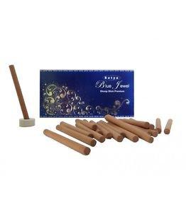 2 x20 Sticks Satya Blue jewel premium Dhoop Sticks Puja Religious Temple Home