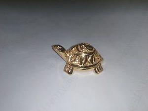Beautiful Gold Color Fang shui Wish Tortoise / Turtle for fulfill of wish + Ship