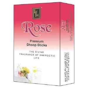 2 x Zed Black Rose Premium Dhoop Sticks 20 Stick Pure NaturaI Dhoop Free Shipp
