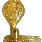 Metal Shivling with Naag Statue Hindu God Shiva Lingam Diwali Navratra Free Ship