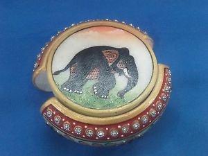 White Marble Tea Coaster Set Jaipur Hand Carfted Paint Art Home Decor Gifts+Ship