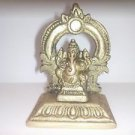 Rare Brass Lord Ganesha Statue Home Decor Religious India Art Idols Sculpture