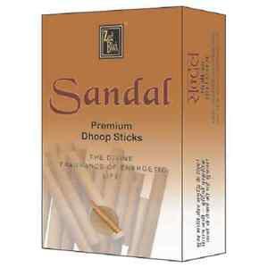 2 x Zed Black Sandal Premium Dhoop Sticks 20 Stick Pure NaturaI Dhoop + Shipp