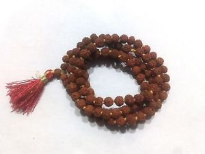 6 M.M. SMALLEST Very small and rare Rudraksha mala of 108+1 Hindu prayer beads