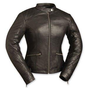 "FMC ""Black Diamonds"" Ladies Motorcycle Jacket FIL166CCBZ"