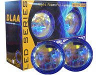 DLAA 2 in 1 Fog Lamp with LED Ring MYR 100.00