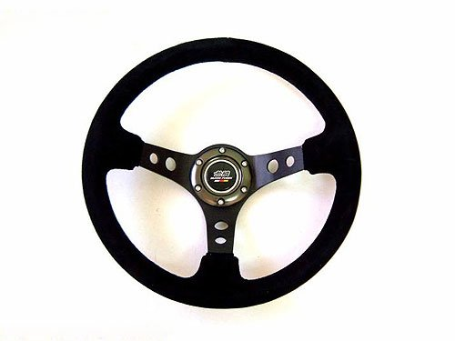 Fabric/Leather Steering Wheel (with Real Carbon Horn Ring) MYR 1000