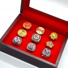 Boston Red Sox Complete Championship 9 Ring Set Size 11 USA Shipping