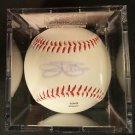 Palmer Fingers Perry Sutton 4 Signed Baseballs HOF PSADNA CERT UV Protect Cubes