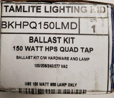 TAMLITE LIGHTING BALLAST KIT MODEL BKHPQ150LMG 150 Watt HPS