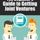 The Beginner's Guide to Getting Joint Ventures with PLR
