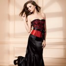 Women Long Skirt Black Solid Fashion Style High Quality Sexy Ladies Ankle-Length Underdress W46149