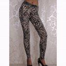 Cheap Clothes Women's Leggings Paisley Pattern Print Yoga Pants WL047