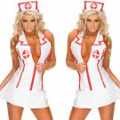 Sexy Nurse Costume Cosplay White Doctor Adult Women Outfit Dress Erotic Lingerie Set Hot W512922