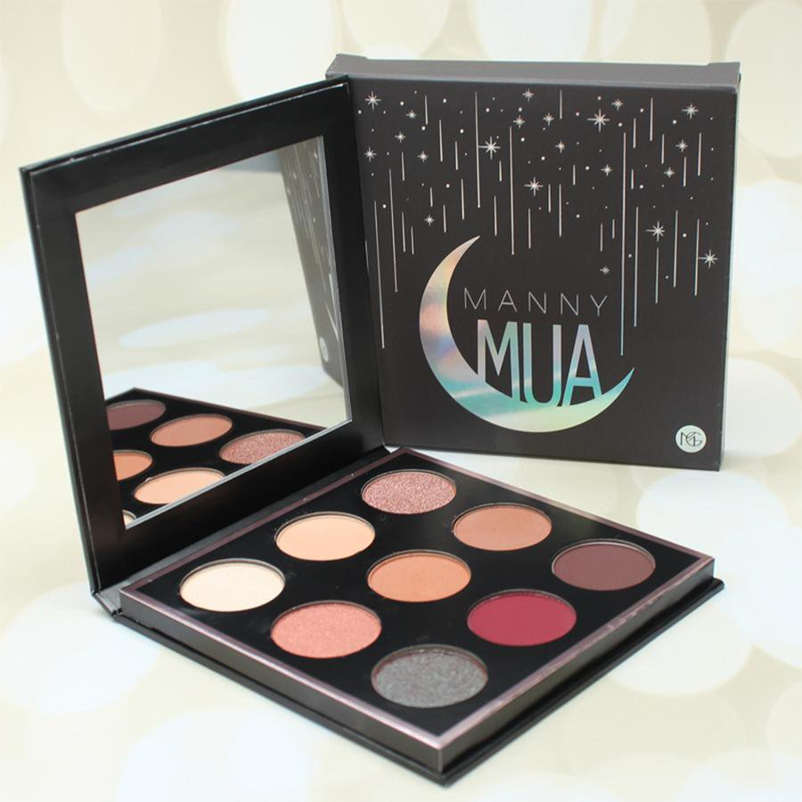 Hot Manny Mua 9 Colors Eyeshadow Palette