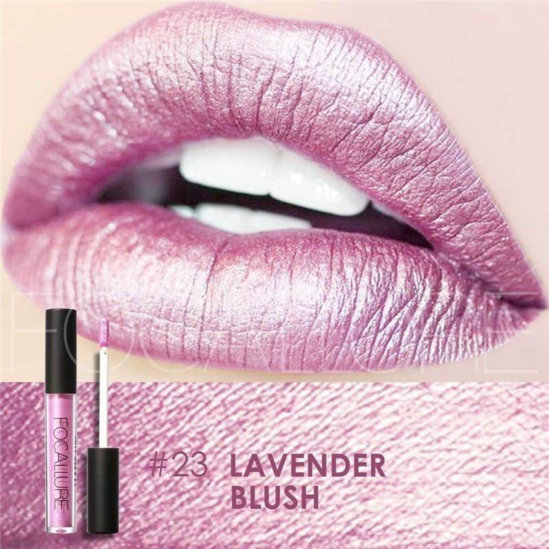 Hot Focallure #23 Lavender Blush Authentic Waterproof Lip Gloss Liquid Lipstick US FREE SHIPPING