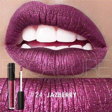 Hot Focallure #24 Jazberry Authentic Waterproof Lip Gloss Liquid Lipstick US FREE SHIPPING