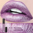 Hot Focallure #25 Fuchsia Lavender Authentic Waterproof Lip Gloss Liquid Lipstick US FREE SHIPPING