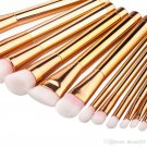 Top Quality Professional 15 Pcs Rose Golden Makeup Brush Set Compared to ZOEVA