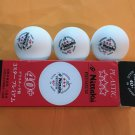 Nittaku Premium 3-Star Plastic 40+ Table Tennis Balls Pack
