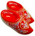 Wooden Shoes, HOLLAND, High Quality Resin 3D Fridge Magnet