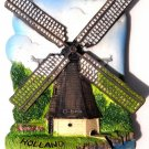 Wind Mill, HOLLAND, High Quality Resin 3D Fridge Magnet