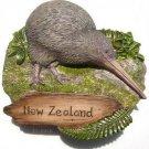 Souvenir Kiwi, NEW ZEALAND, High Quality Resin 3D Fridge Magnet