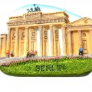 Brandenburger Tor, BERLIN Germany, High Quality Resin 3D Fridge Magnet