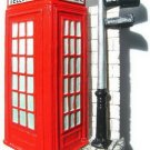 Souvenir Red Telephone Booth, LONDON United Kingdom, High Quality Resin 3D Fridge Magnet