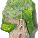 Souvenir Great Wall, CHINA, High Quality Resin 3D Fridge Magnet