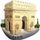 Souvenir Arc de Triomphe, PARIS France, High Quality Resin 3D Fridge Magnet