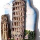 Souvenir Leaning Tower, PISA Italy, High Quality Resin 3D Fridge Magnet