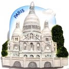 Souvenir Sacre Coeur, PARIS France, High Quality Resin 3D Fridge Magnet