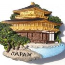 Resin Fridge Magnet: Japan - Kyoto. Kinkaku-ji (the Golden Pavilion)