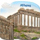 Souvenir Parthenon, ATHENS, High Quality Resin 3D Fridge Magnet