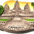 Souvenir Angkor Wat, CAMBODIA, High Quality Resin 3D Fridge Magnet