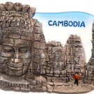 Souvenir Bayon, CAMBODIA , High Quality Resin 3D Fridge Magnet