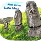 Souvenir  Moai statues, EASTER ISLAND ,Governed by Chile , High Quality Resin 3D Fridge Magnet