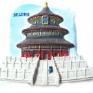 Souvenir Temple of Heaven, CHINA, High Quality Resin 3D Fridge Magnet