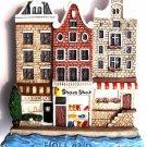 Souvenir Holland Houses, HOLLAND, High Quality Resin 3D Fridge Magnet