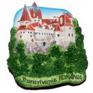 Souvenir Bran Castle (Dracula's), Transylvania, ROMANIA, High Quality Resin 3D Fridge Magnet