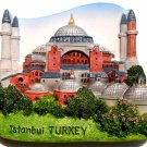 Souvenir Hagia Sophia, Istanbul, TURKEY, High Quality Resin 3D Fridge Magnet