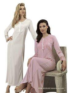 ARTIS, Women�s Long Sleeve Lace Nightgown
