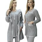ARTIS, Women's 3-Piece Fleece Pajama and Homewear Set