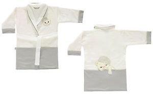 Cotton Embroidered Toddler Bathrobe-WARM FAMILY