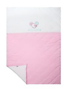 Sydney Baby, 100% Cotton Baby Blanket, Jersey Knit-DOLLY PINK