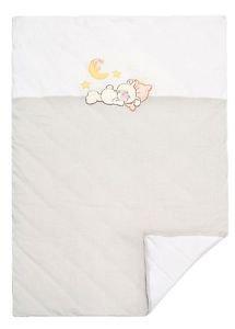 Sydney Baby, 100% Cotton Baby Blanket, Jersey Knit-LITTLE BEAR