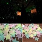 2016 NEW 100pcs Home Wall Glow In The Dark Star Stickers Decal In Baby Kid Nurse