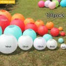 "10pcs 8-16"" 15-25-30-35-40cm Decorative Paper Lampion Ball Festival Supplies Chi"